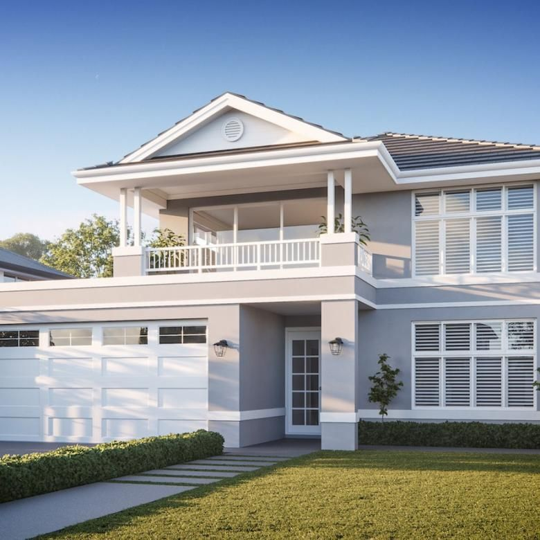 The Riverside Oswald Homes Luxury Home Builders Perth Hamptons House Hamptons Style Homes Hamptons House Exterior