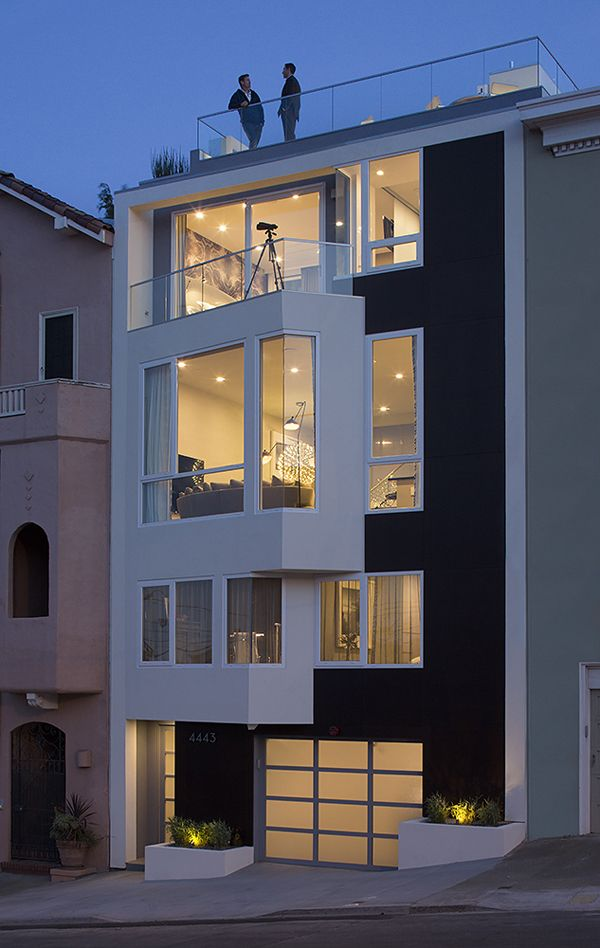 LEED platinum luxury residence in San Francisco by DNM Architect ...