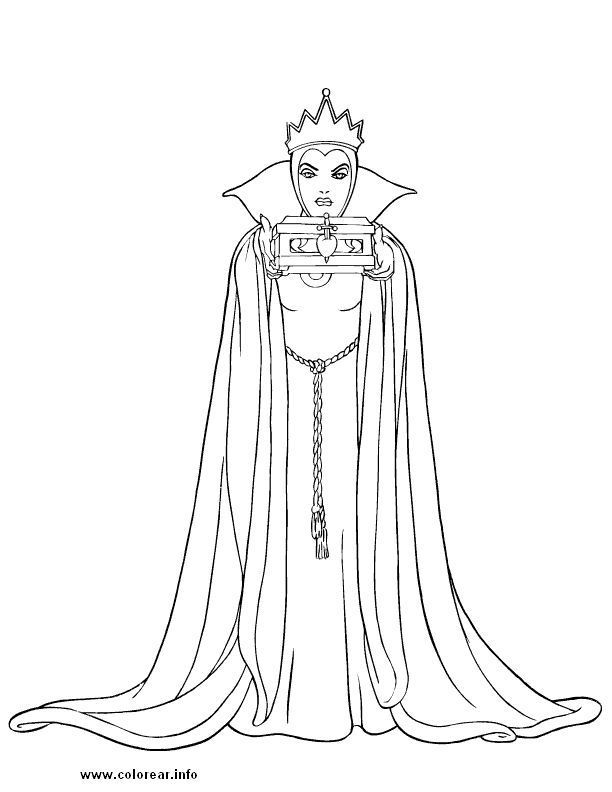 All Disney Villains Coloring Pages Coloring Pages For All Ages Snow White Coloring Pages Coloring Books Disney Coloring Pages