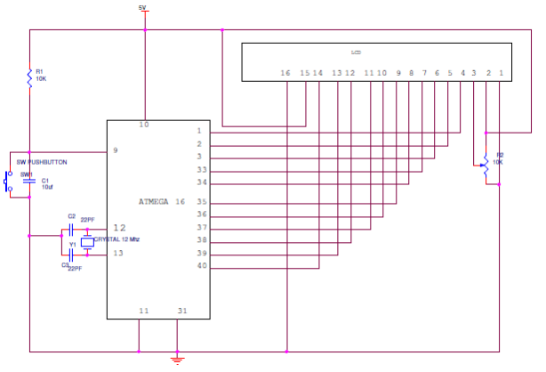 How to Interface 16X2 LCD with AVR Microcontroller?