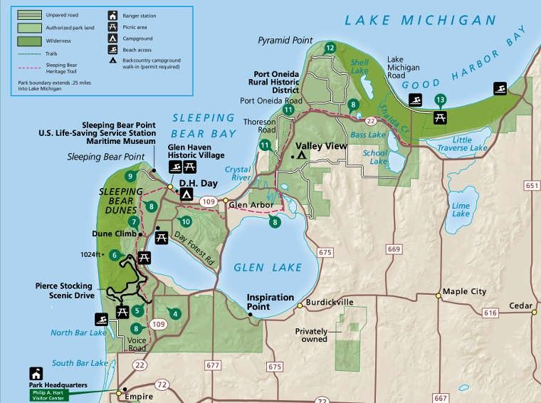 bass lake michigan map Pin By Clyde Brokaw On National Parks Lake Michigan Bass Lake Lake bass lake michigan map