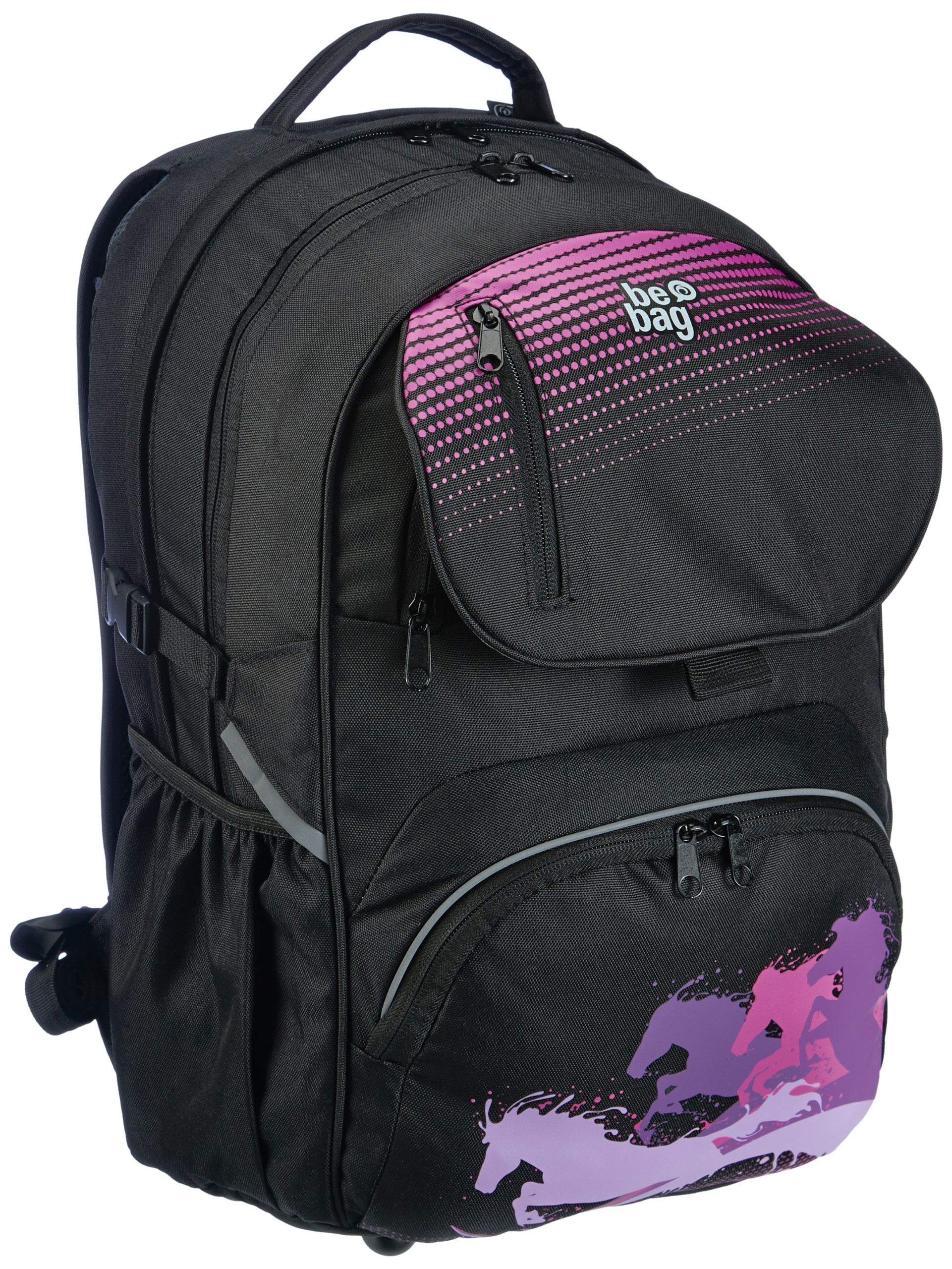 764d968208 Herlitz Horse Power Design Be Bag Cube School Backpack with Soft Case