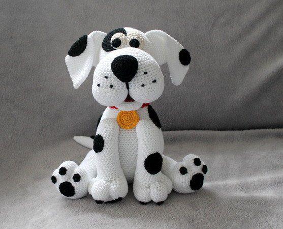 Amigurumi Anleitung Hund : Hund häkeln voll beweglich ca cm lang