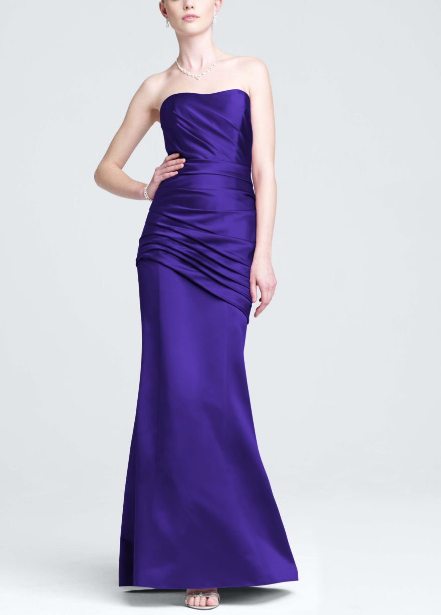 David\'s Bridal color Regency | Bridesmaids dresses | Pinterest