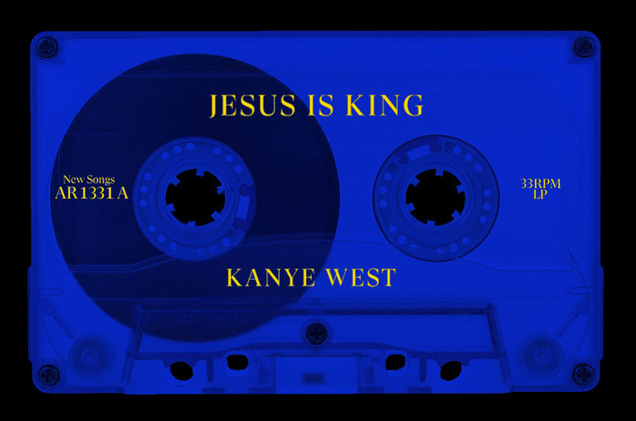 Kanye West S Jesus Is King Album Art Movie Poster And Merchandise Fonts In Use In 2020 Kanye West Album Cover Kanye West Albums Album
