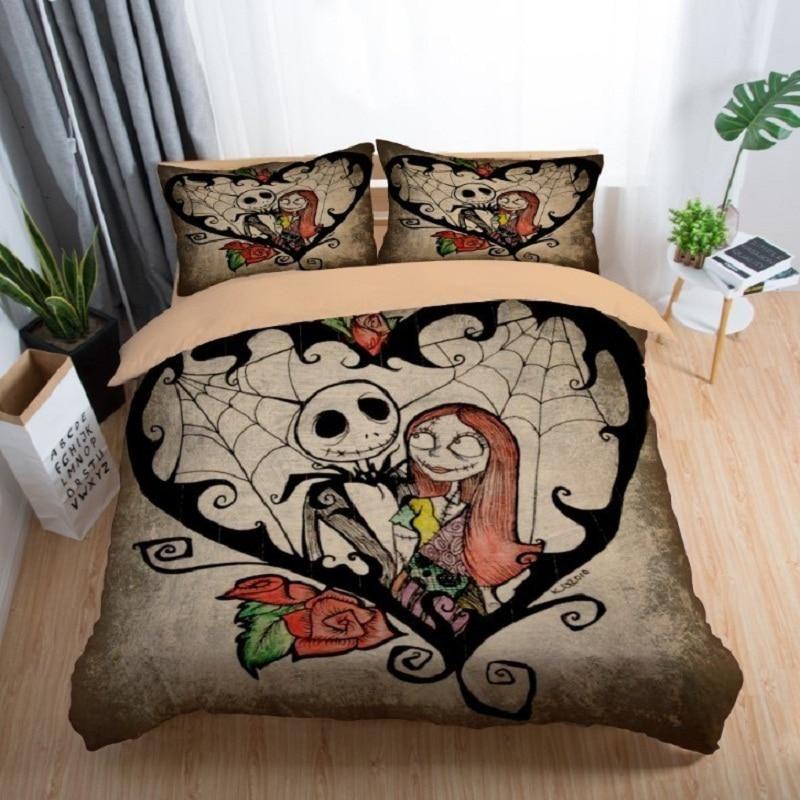 Nightmare Before Christmas Bedding Set Christmas Bedding Christmas Bedding Set Nightmare Before Christmas Bedding