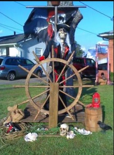 Pin by Patty Risi on Pirate Theme and Halloween Decorations - halloween pirate decorations