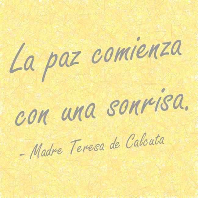 Madre Teresa De Calcuta Madre Teresa Frases Y Frases Y