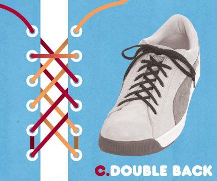 Ways to tie shoelaces, Shoe laces