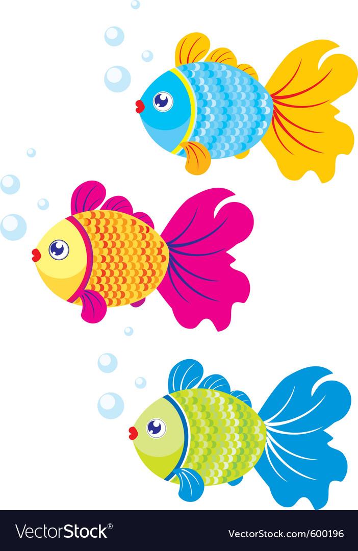Fish vector image on VectorStock
