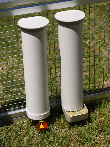 Chicken Feeders And Waterers Homemade Or 0410 375 686 Or Click