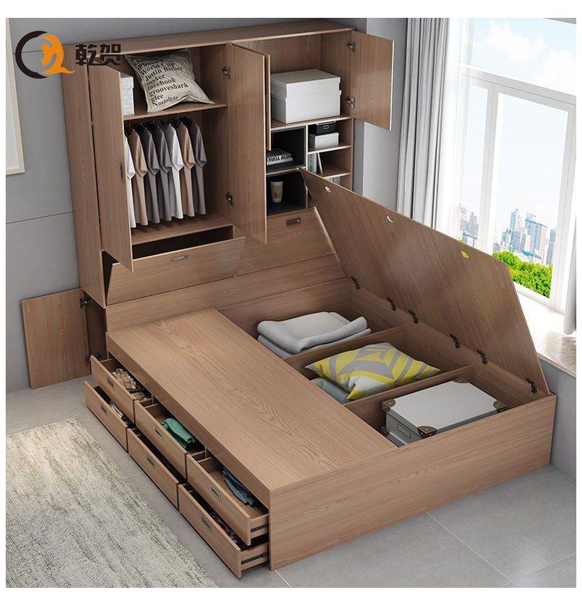#box #bed #designs #modern Storage small apartment drawer ...