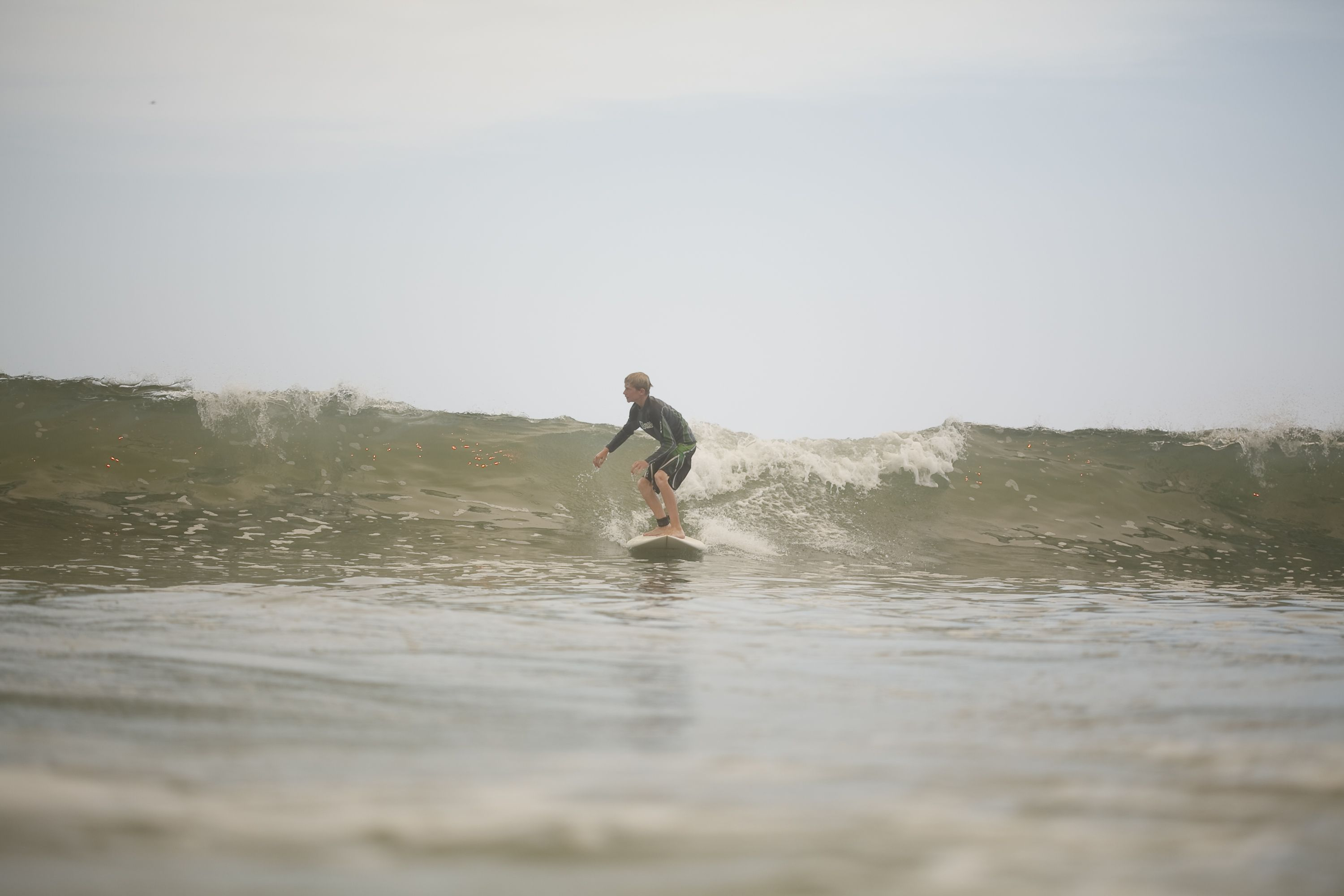 Liam - Shredding on his own thanks to CSS surf lessons