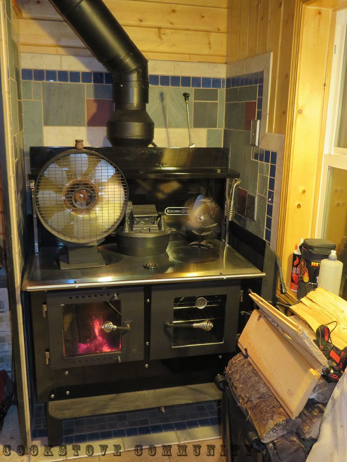 Kitchen Queen 380 With Glass Doors Ovenswood Burning Stovehow