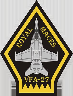 ed7c0071d F/A-18 VFA-27 Royal Maces Men's Premium T-Shirt - heather gray | Fly ...