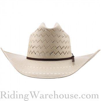 8833d780124d0 Ariat 20X Zig Zag Two-Tone Straw Cowboy Hat Cowboy Hats