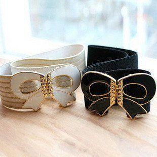 Big Fashion Belts | Free-shipping-Fashion-big-bowknot-lady-belts-Adjustable-belts-for ...