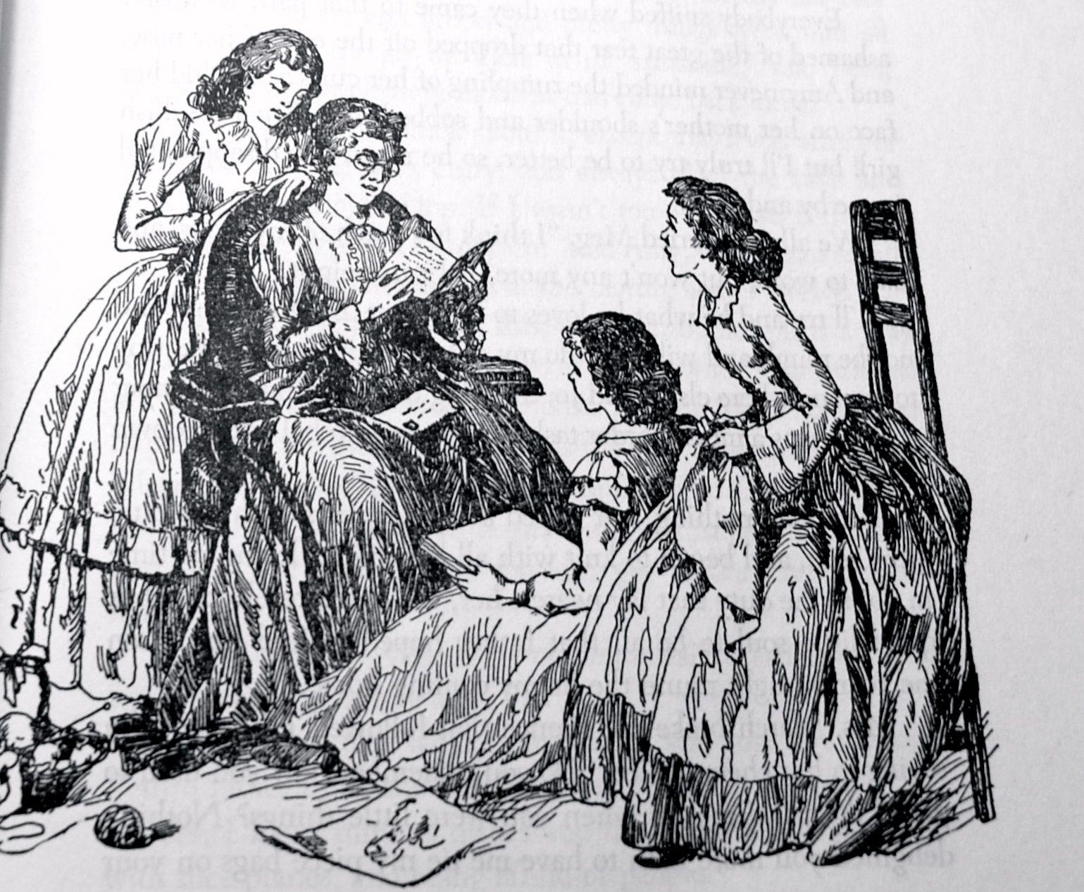 Illustrations Of Little Women