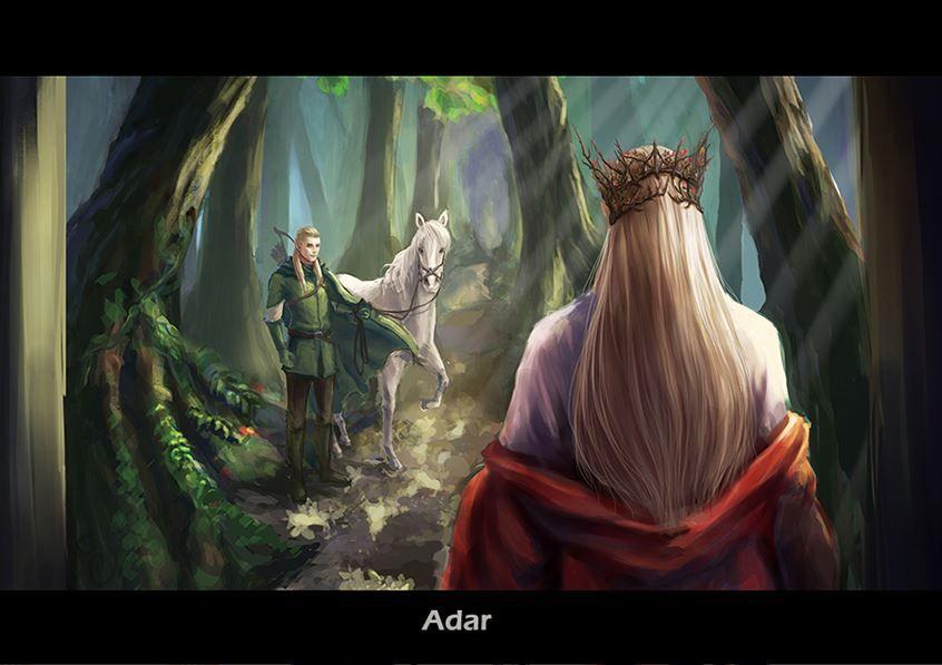 Thranduil and Legolas by 阿邑邑邑邑