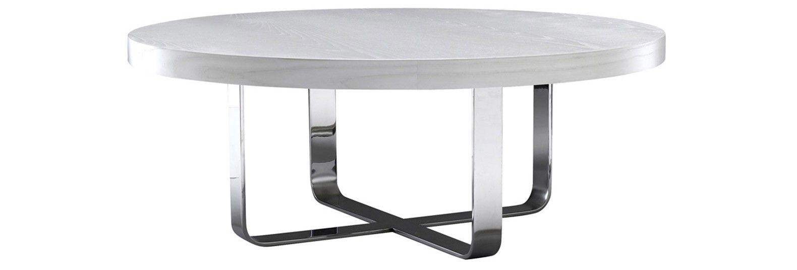 Soho Cocktail Table By Desiron Shown In White Ash Polished