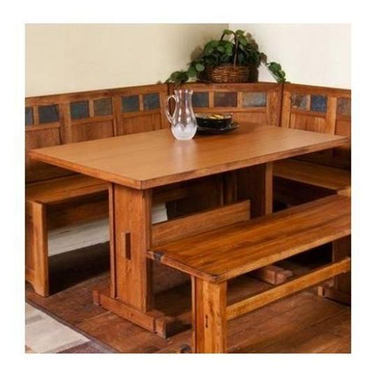 Kitchen Nooks And Booths For Home | ... 0219RO Sedona Breakfast Nook Set  With