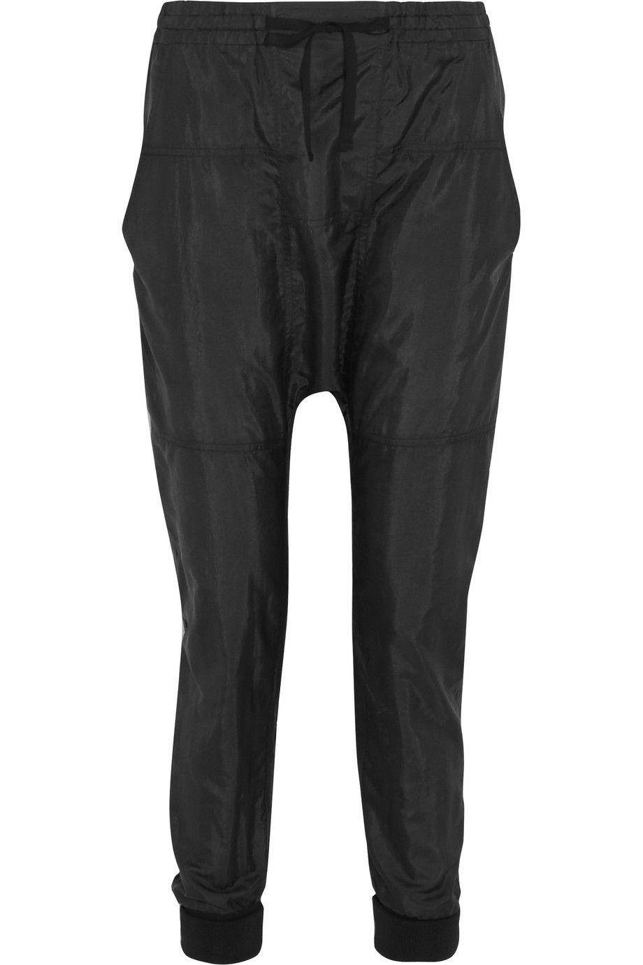 01742abc090 ISABEL MARANT Keegan Satin-Shell Tapered Pants.  isabelmarant  cloth  pants