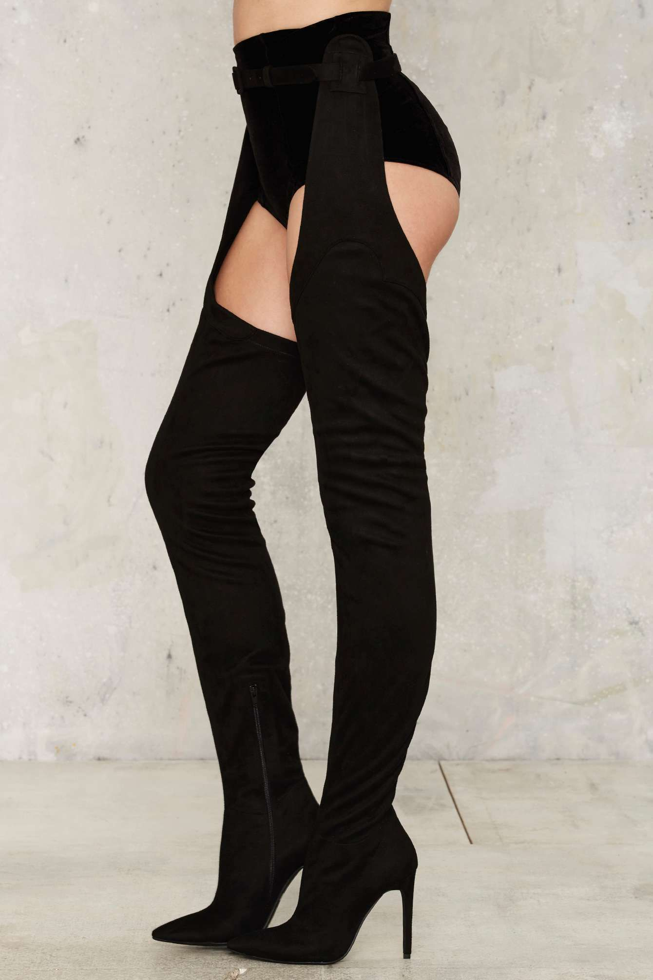 63313c5c06a3 Jeffrey Campbell Maven Thigh-High Boot - Nasty Gal | Outfits in 2019 ...