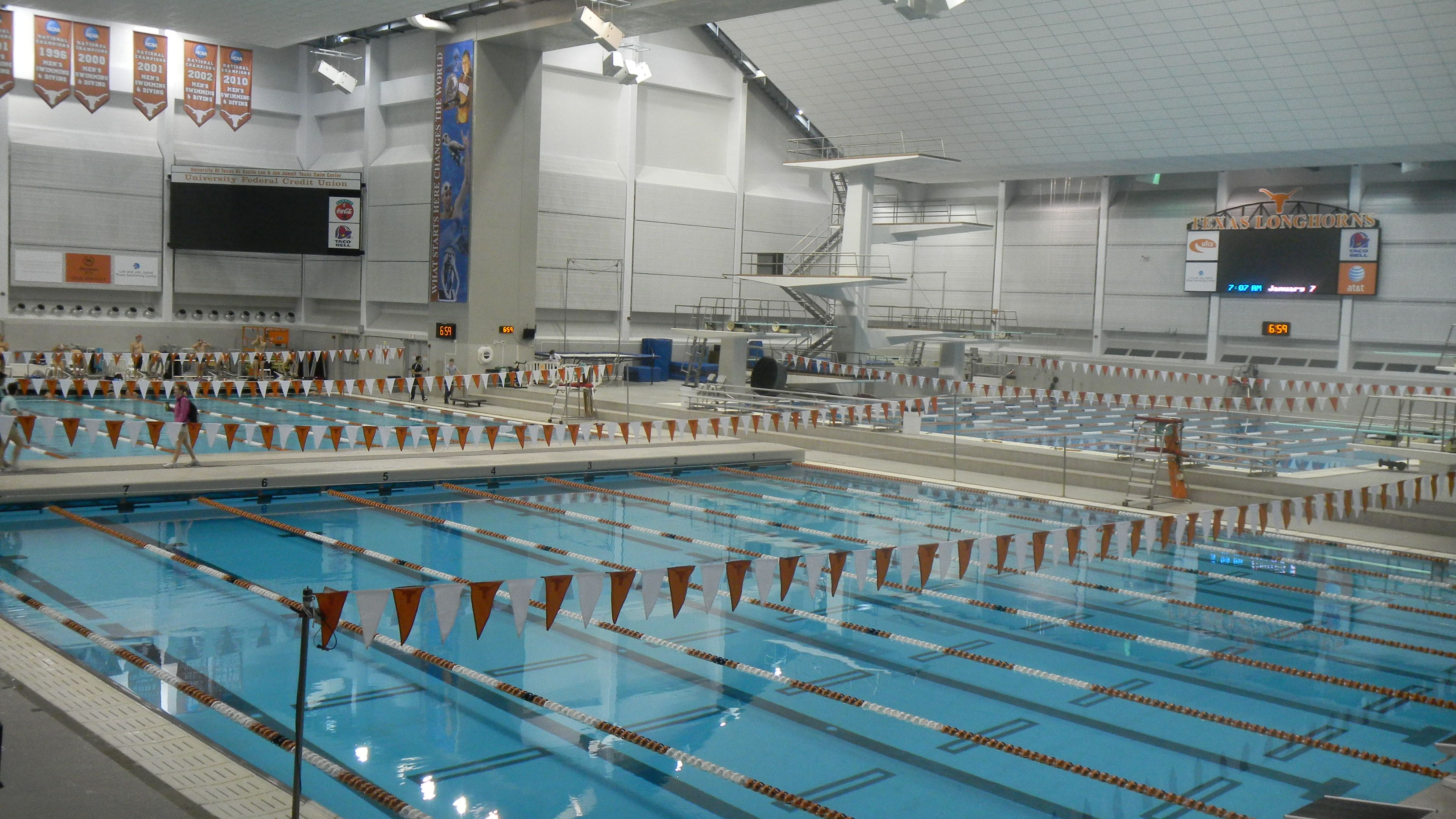 the lee and joe jamail texas swim center ut austin cities i love austin tx pinterest