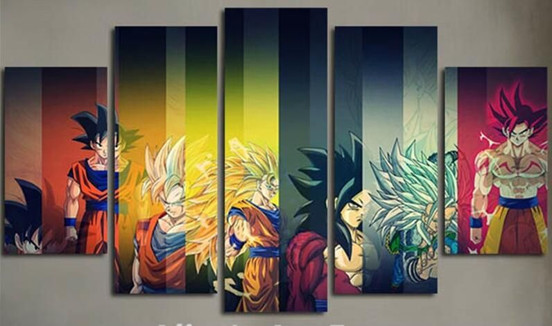 Dragon Ball Z Goku | Wall art pictures, Wall canvas and Canvases