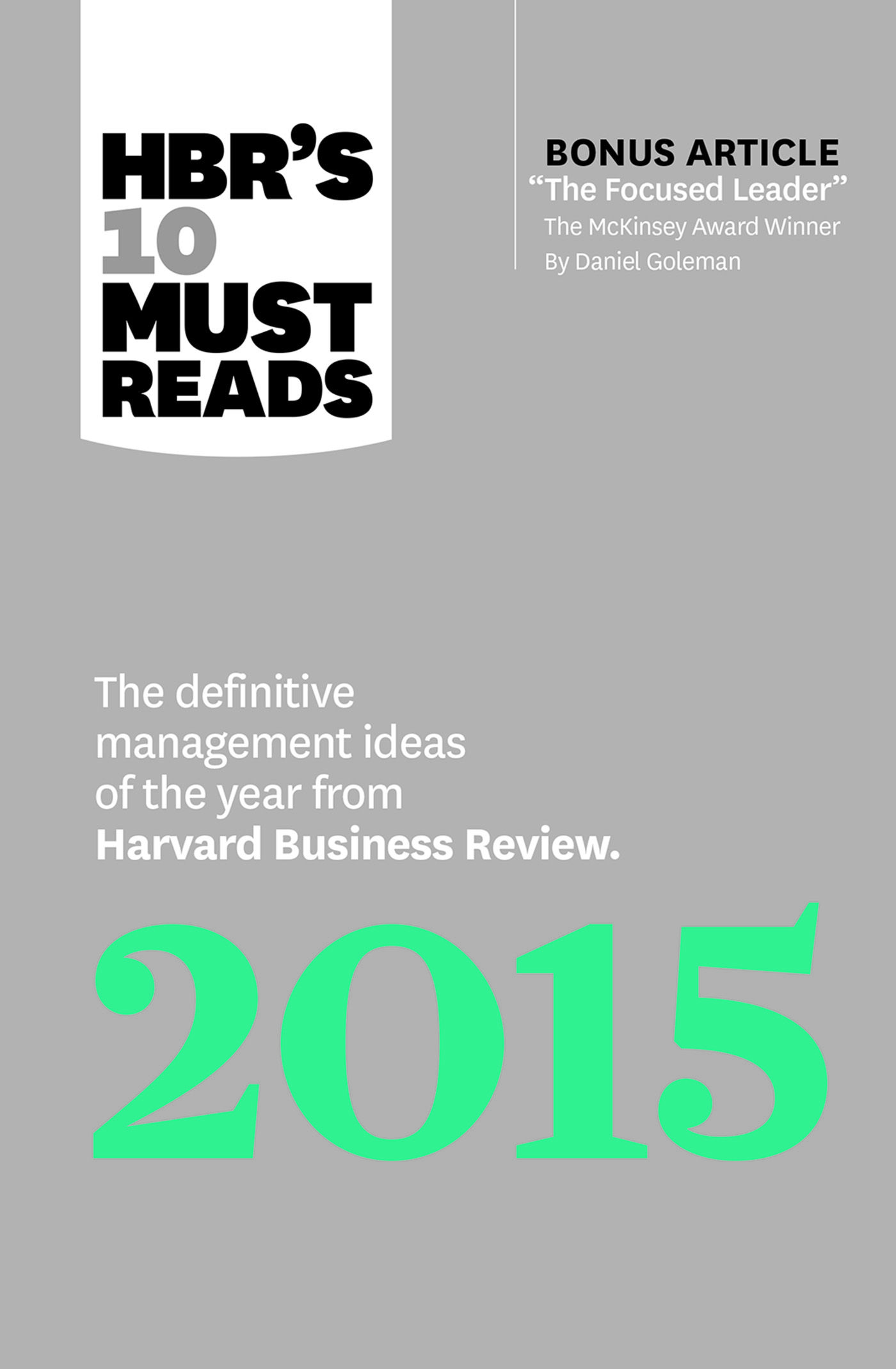 A year's worth of management wisdom, all in one place