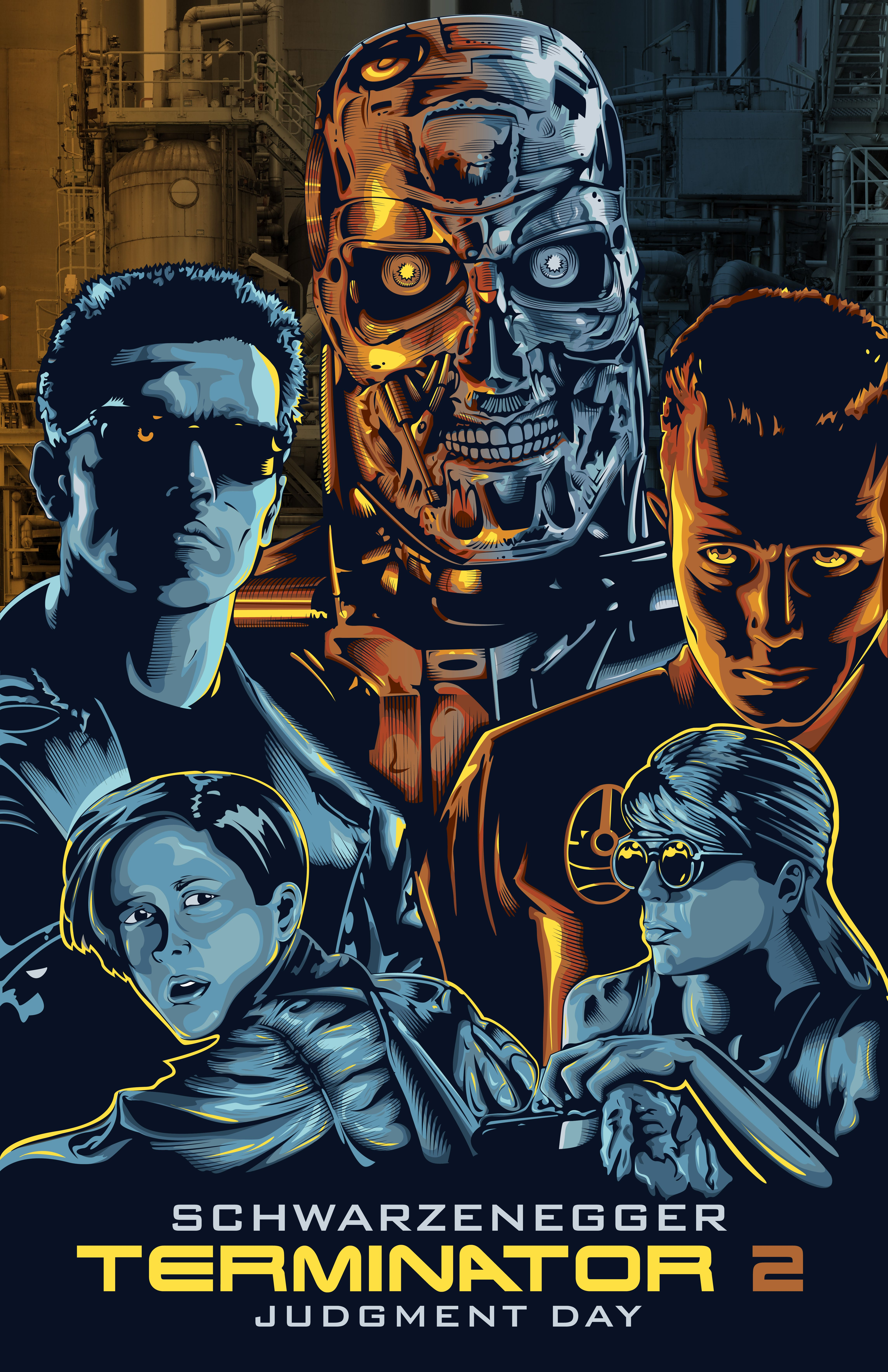 Terminator 2 by willldervalera on deviantART Terminator