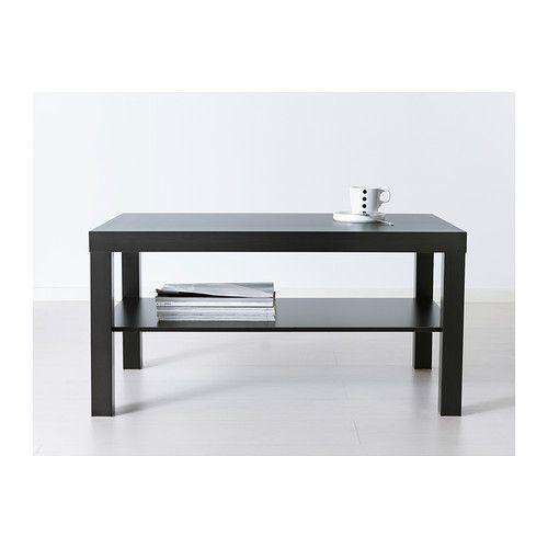 Lack Table Basse Brun Noir Table Basse Salon Table Basse Et