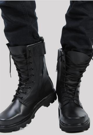 Combat boots men, Military shoes, Mens