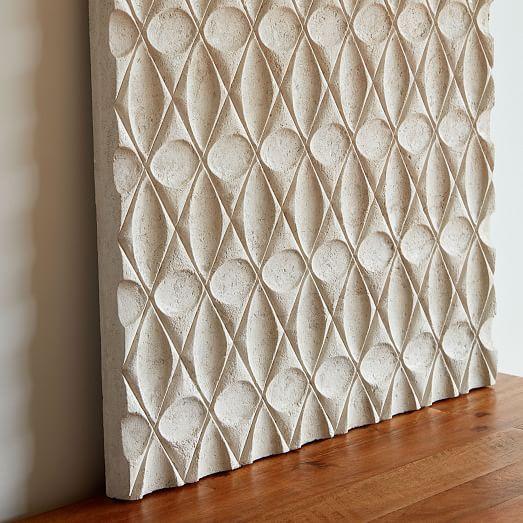 Volcanic Ash Tile Wall Art Westelm Fabric Wall Art Tile Wall Art Wall Tiles