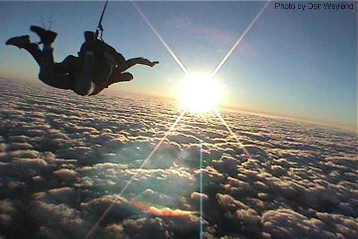 Go sky diving   I am planning to do that next summer