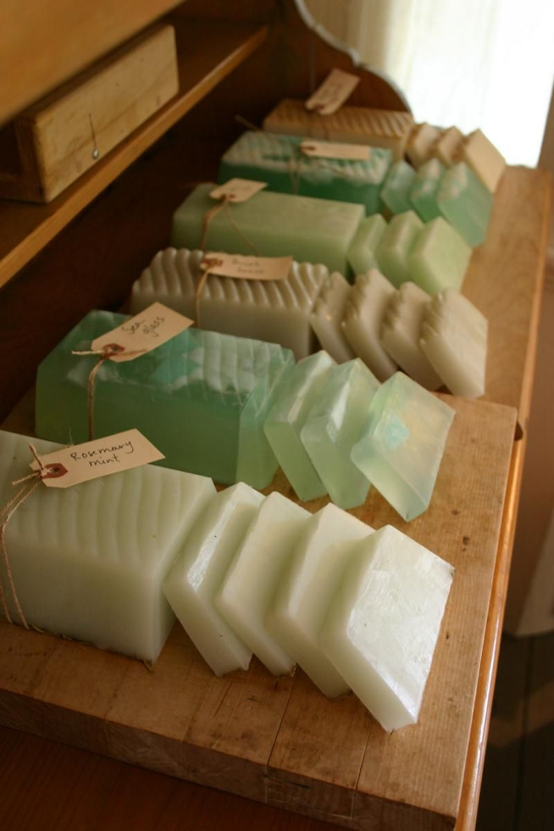 Handmade Soap Slices Fun Products Pinterest Jabones Jabones  # Muebles De Jabon