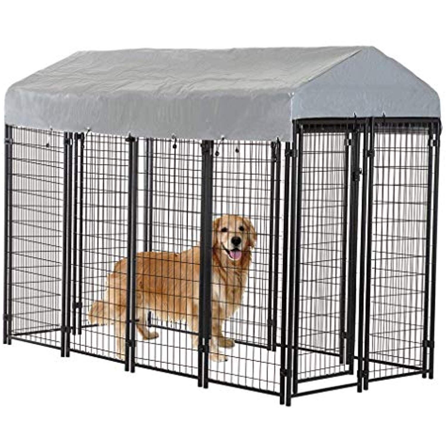 Bestpet Heavy Duty Dog Cage A Outdoor Pet Playpen A This Pet Cage Is Perfect For Containing Small Dogs An Dog Kennel Outdoor Building A Dog Kennel Dog Cages