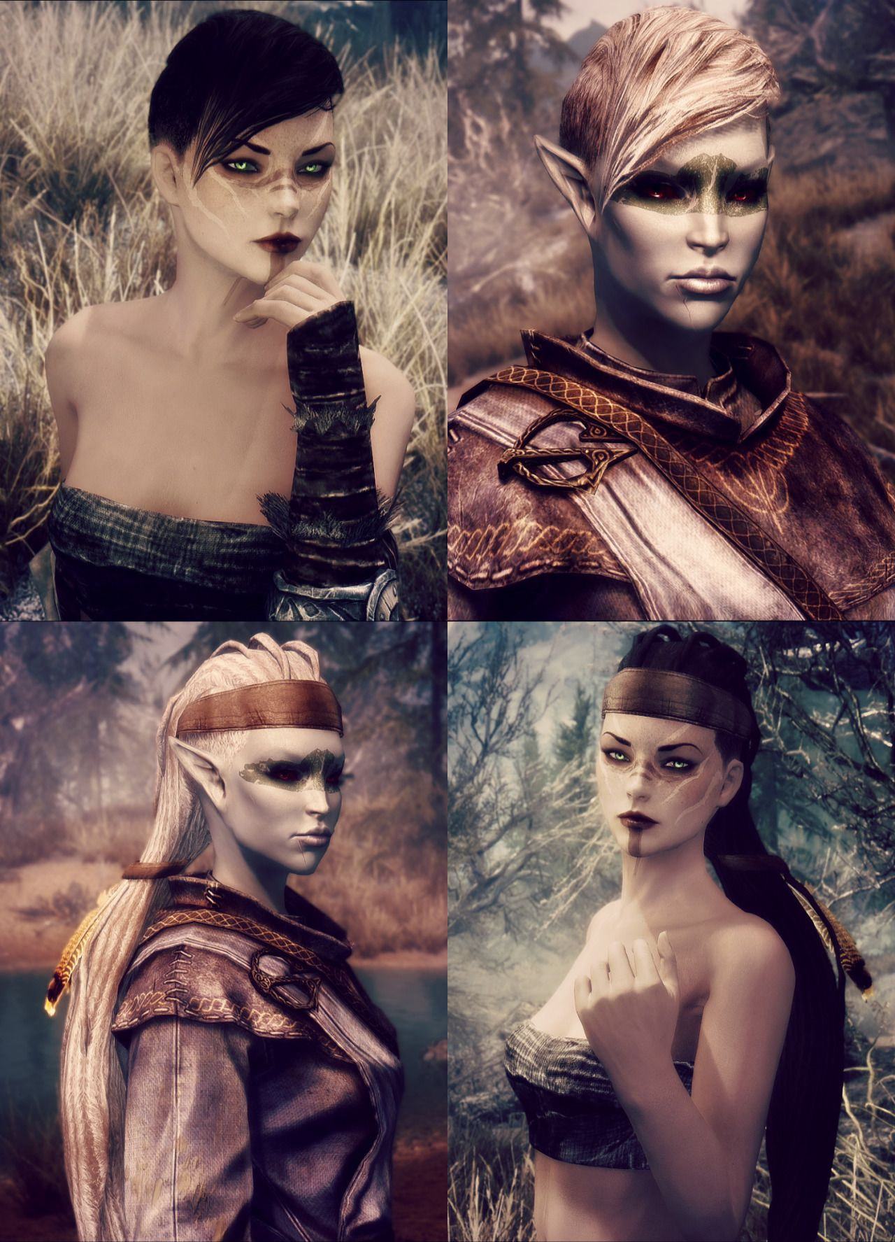 A Shit Ton Of Flowers Skyrim Mods Female Skyrim Mods Female Characters