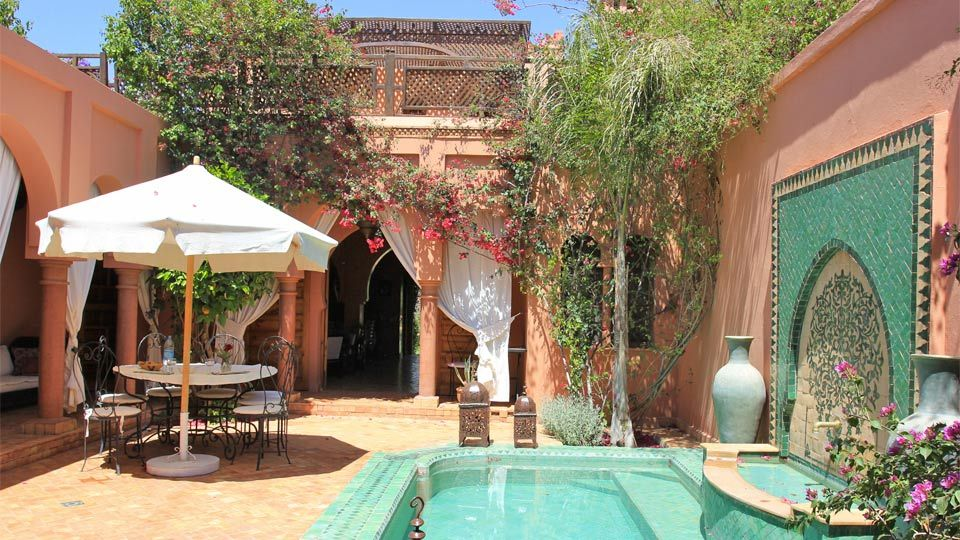 Villa Riad Laurence Olivier In Marrakech   Patio | House | Pinterest |  Marrakech, Villas And Moroccan Design