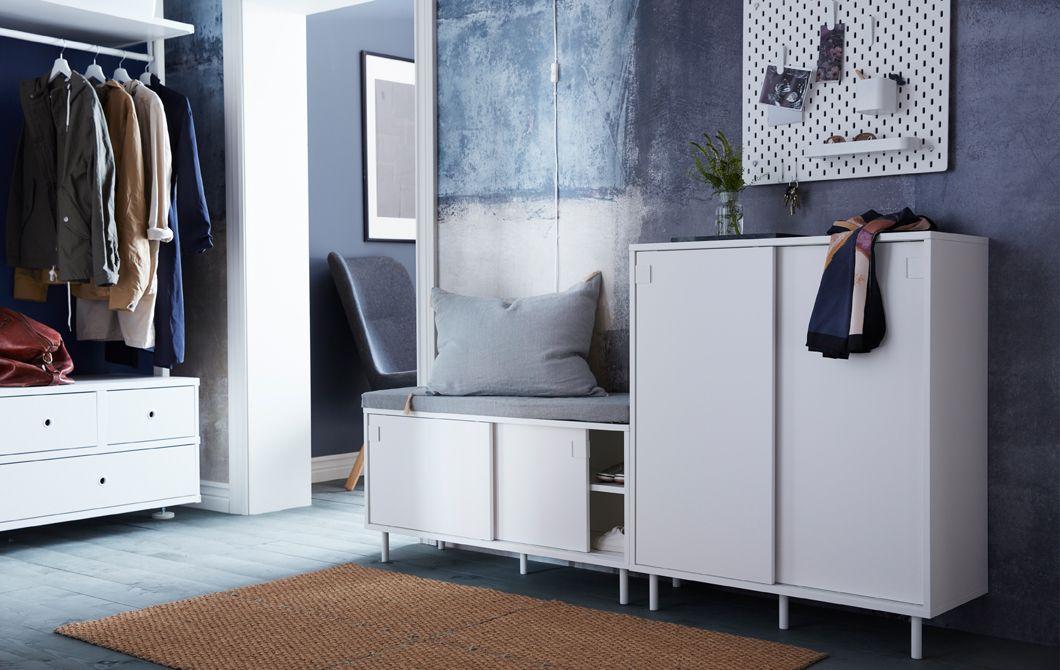 Schoenenkast Voor Kleine Hal.Zoek Je Slimme Opbergoplossingen Voor Je Kleine Hal Ikea