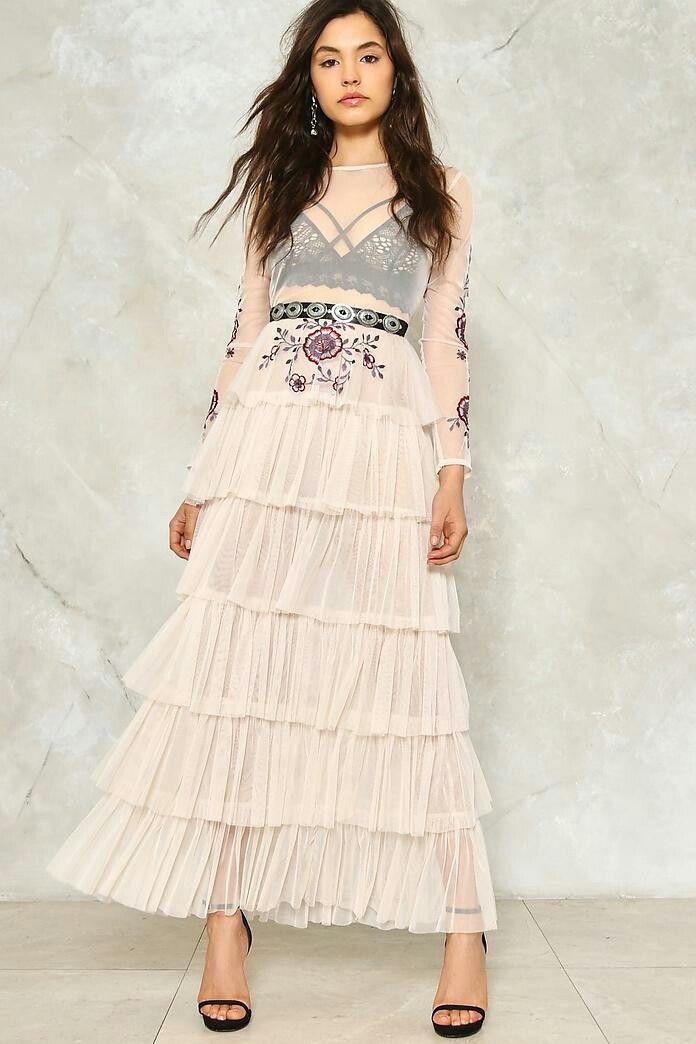 17d21ddba4 Tier It Up Ruffle Maxi Dress