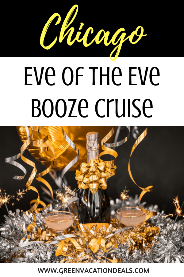 Save on Chicago Eve of the Eve Booze Cruise with Buffet
