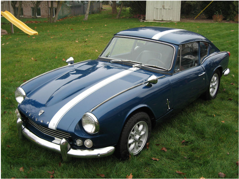 Triumph GT6 Racing Stripe | GT6 | Old sports cars, Vintage