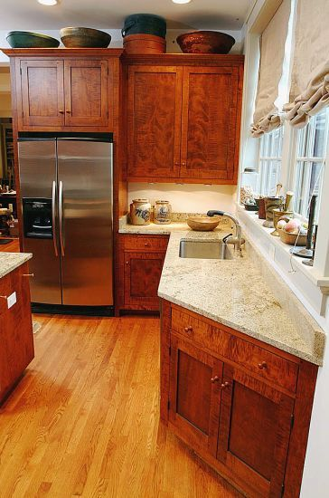 Curly Tiger Maple Cabinets Love