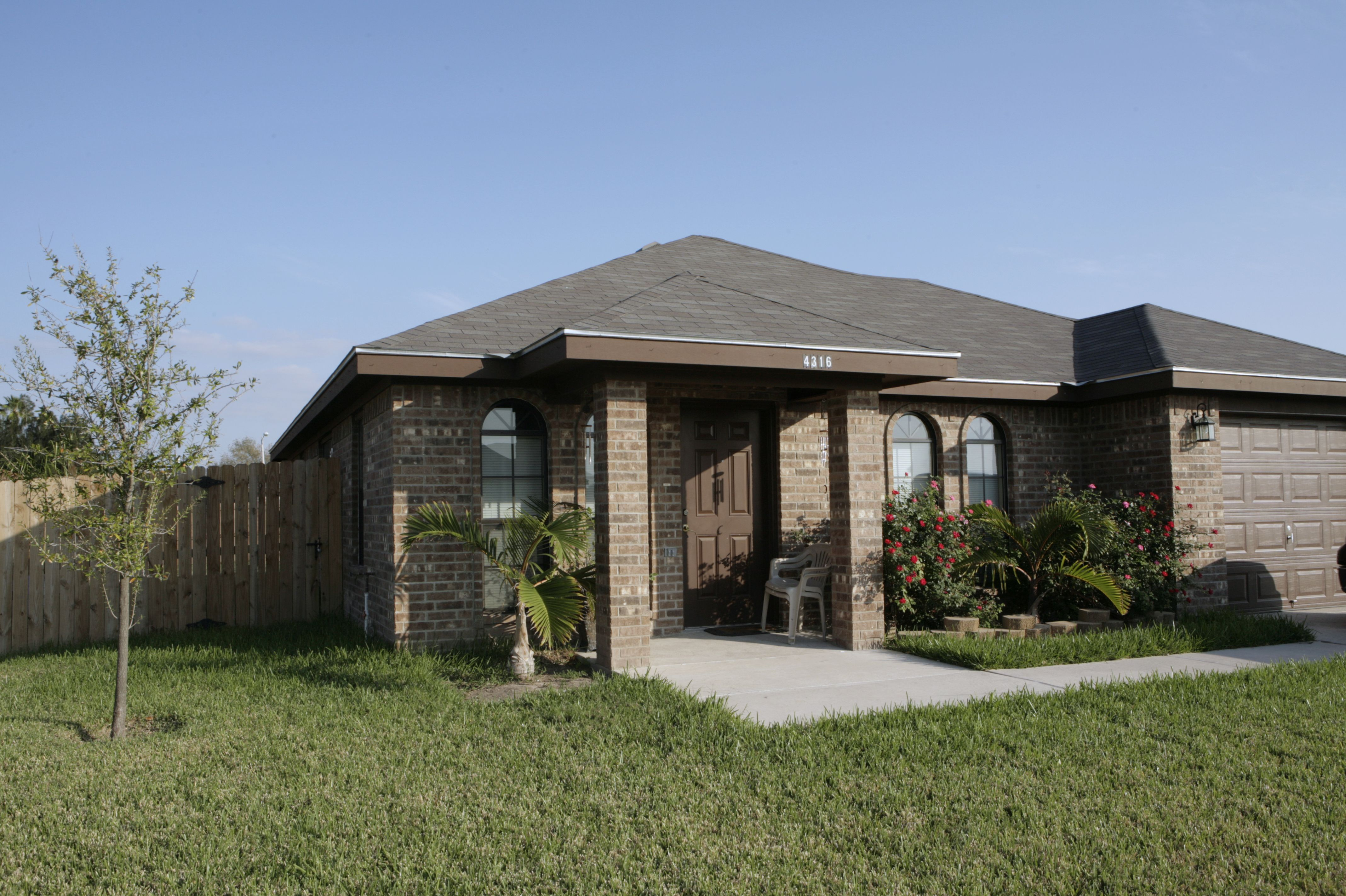 Example Of A Home Built At Affordable Homes Of South Texas - Affordable homes