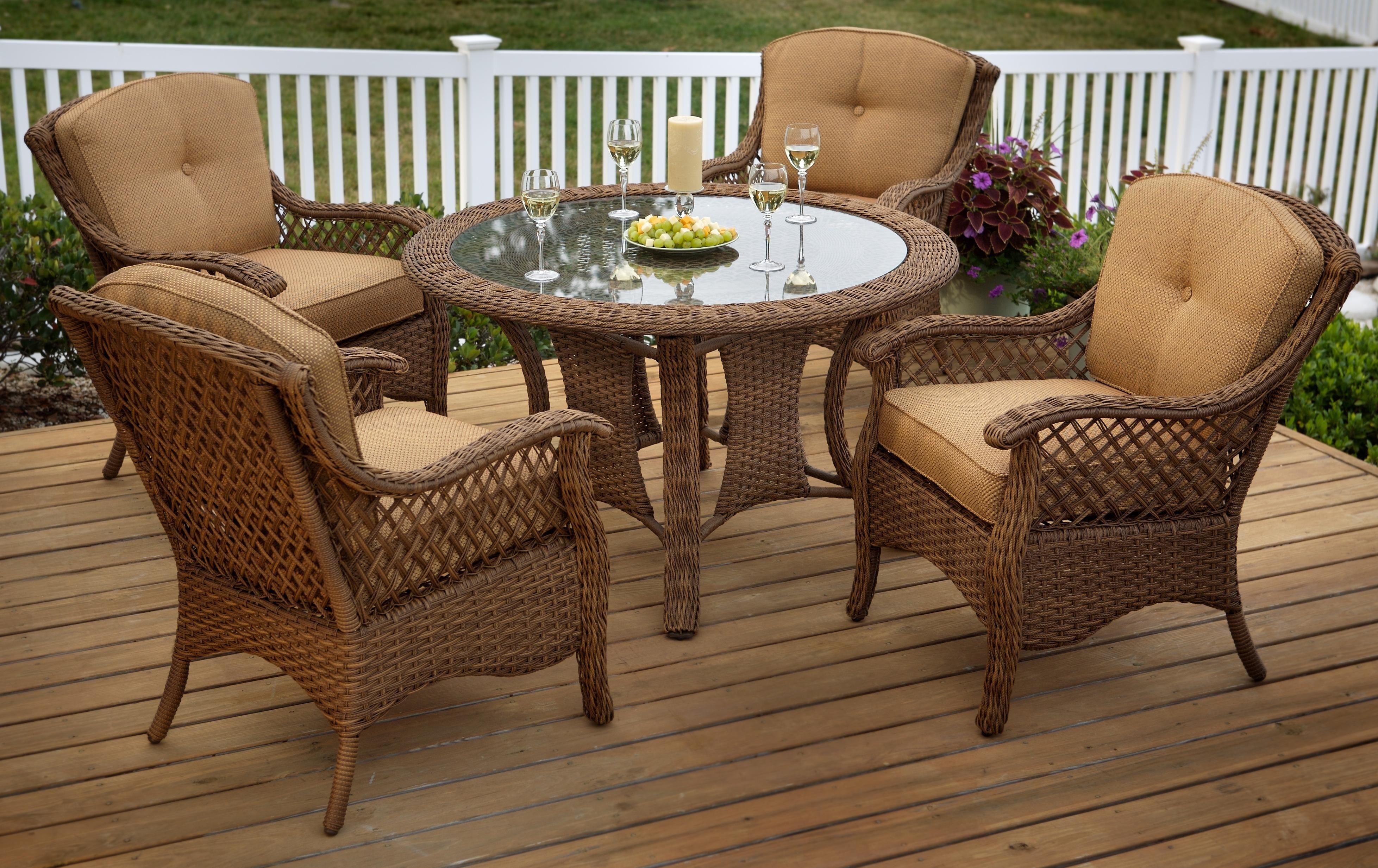 veranda agio 5 outdoor dining set by agio agio Agio Patio Furniture id=76671