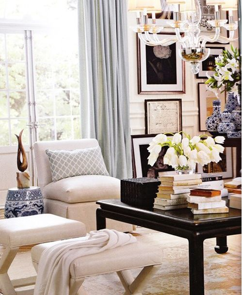 White knitted home decorations decor country living interior house design ideas picture oversized florals in also best decorating images future bed room rh pinterest