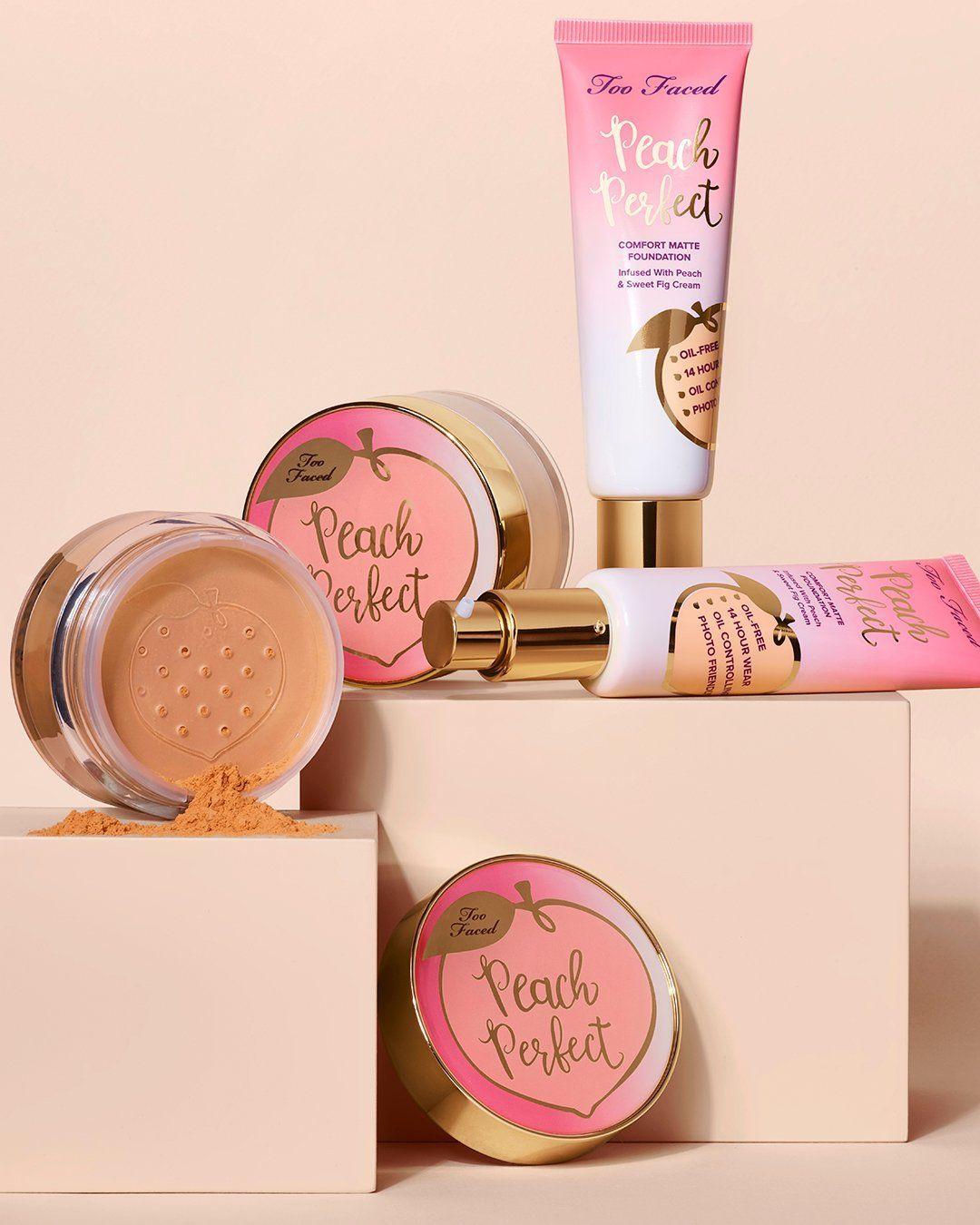 Too Faced Peaches und Cream Collection haben gerade neue