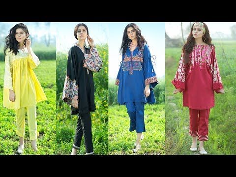 Latest Summer Kurti Designs Tops For Girls 2018 Summer Collections