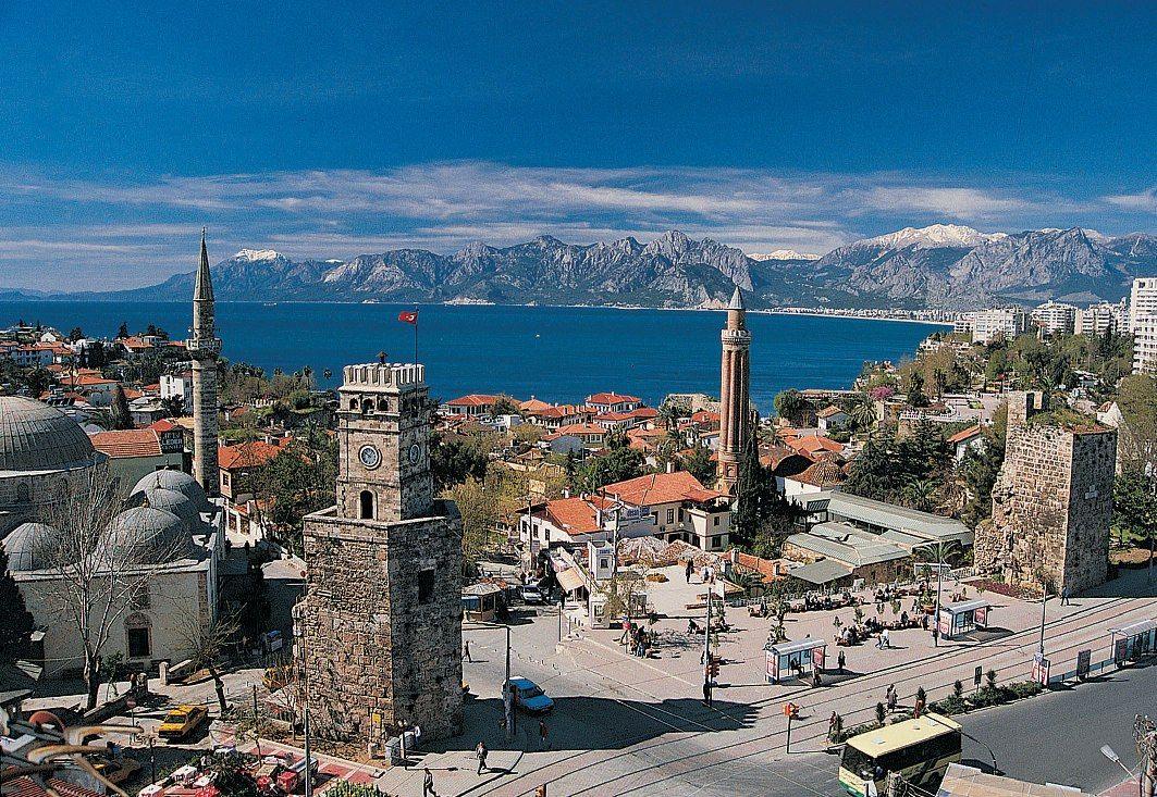 Yivli Minaret Antalya Turkey